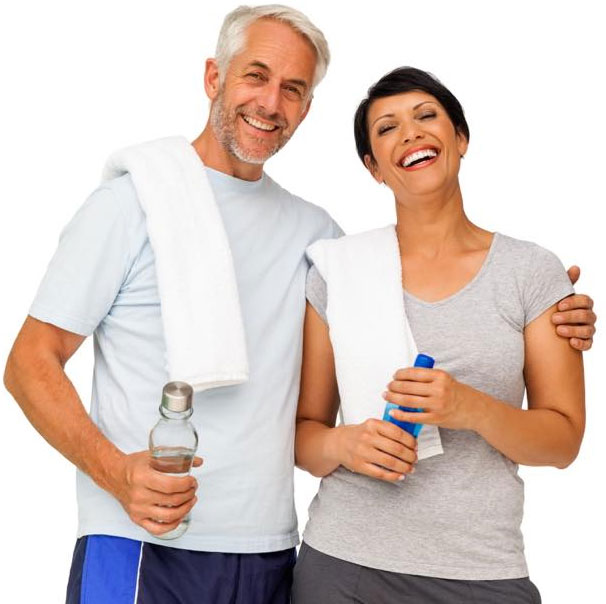 fitness workout couple