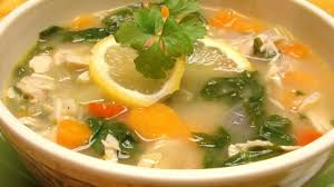 Lemony Turkey Soup